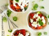 Letnja salata sa pečenim paprikama i nanom
