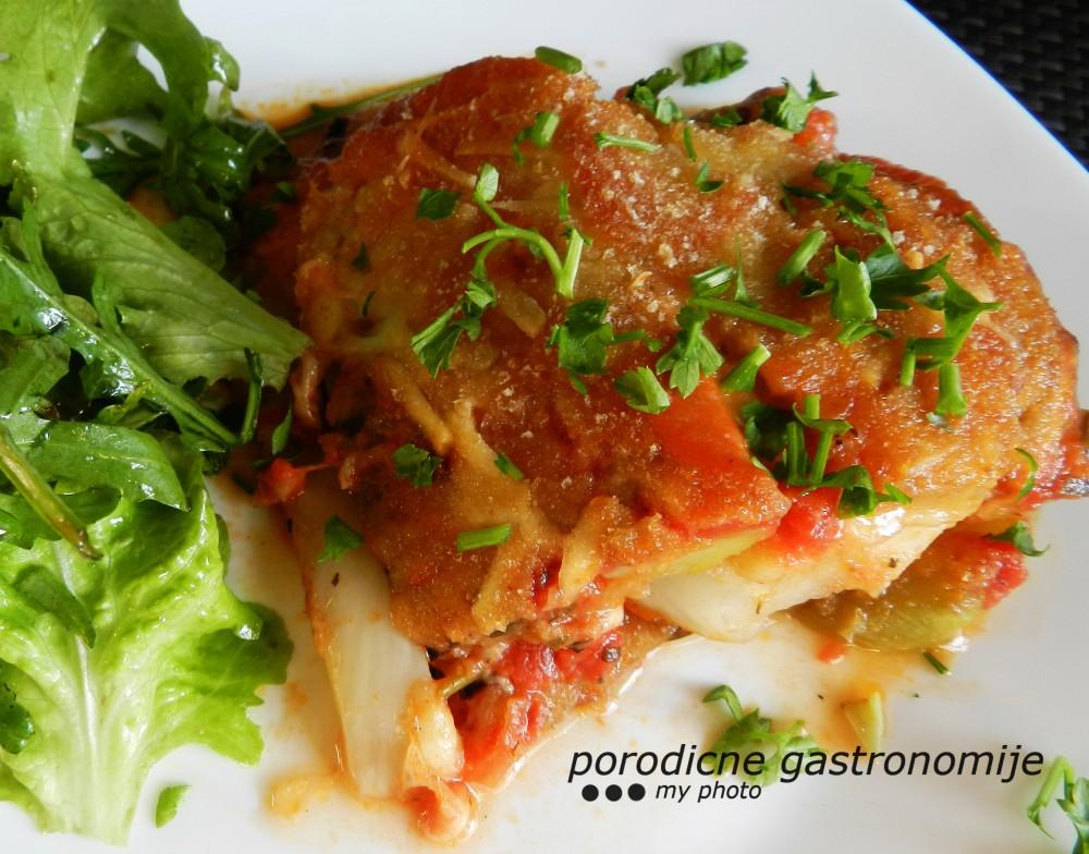 povrce alla parmigiana