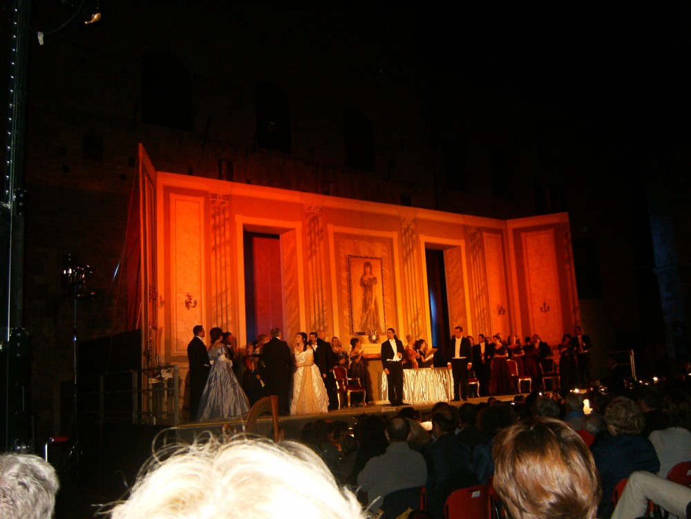 La Traviata, San Gimignano