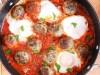 Brze ćuftice sa jajima i paradajzom