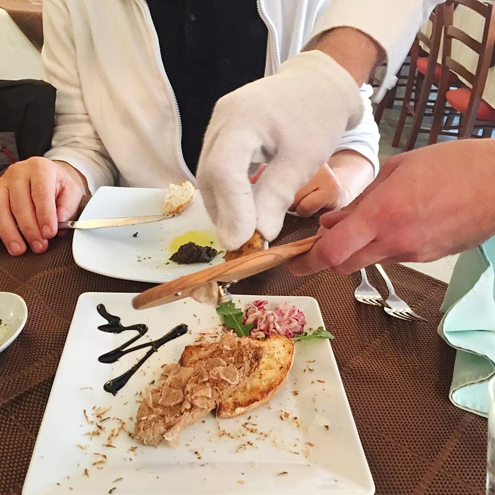 Pašteta od belih tartufa, konoba Mondo, foto: Porodične gastronomije