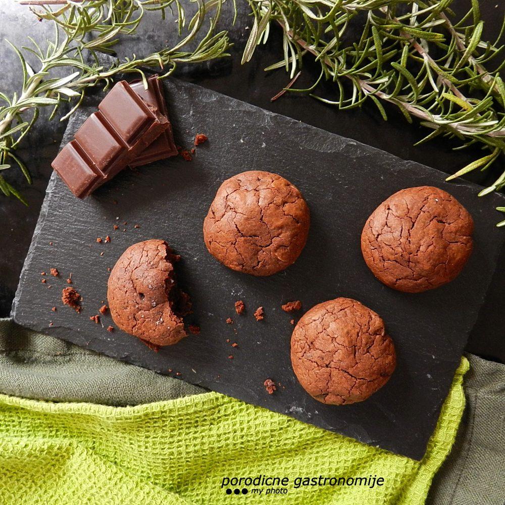 cokoladni keksici sa ruzmarinom