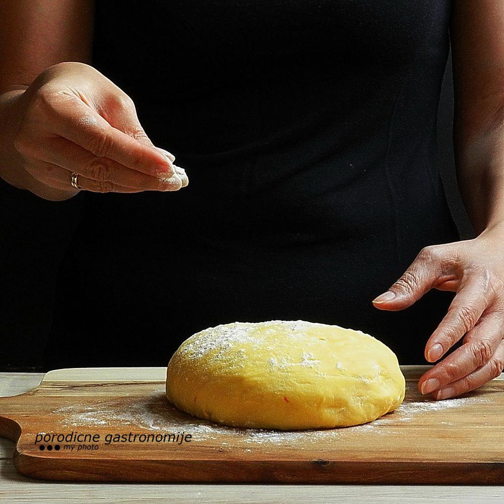 pecivo sa šafranom - priprema 4