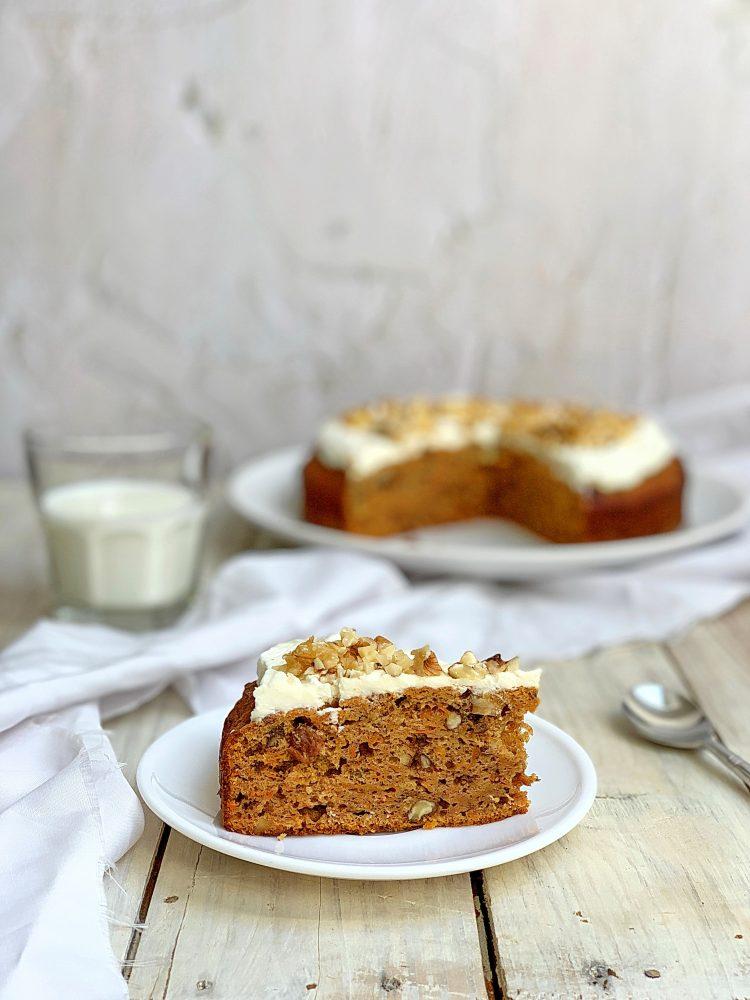 kolač od šargarepe bez šećera