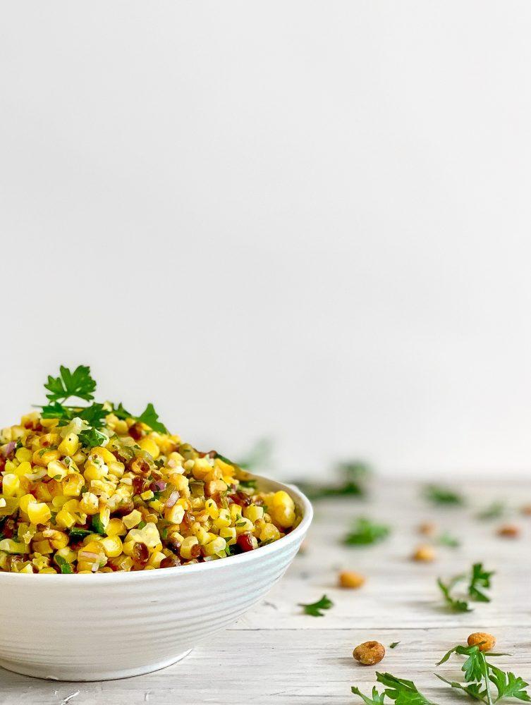 salata od pečenog kukuruza
